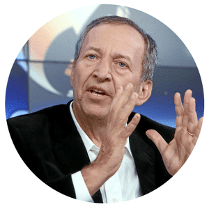 Larry Summers, Former US Secretary of the Treasury