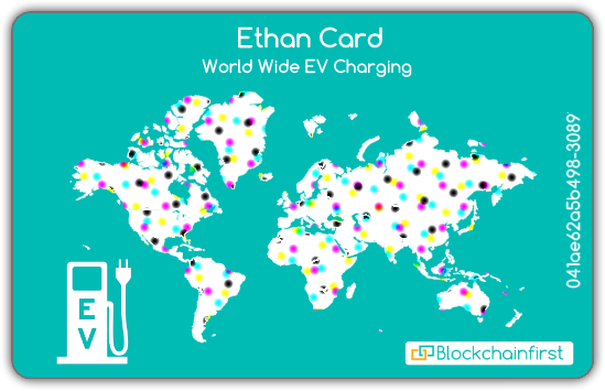 First Ever Multipurpose Blockchain Charging Station