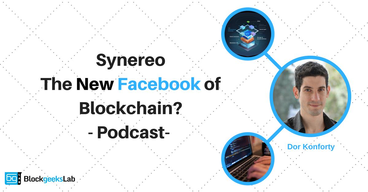 Dor Konforty: Synereo The New Facebook of Blockchain?