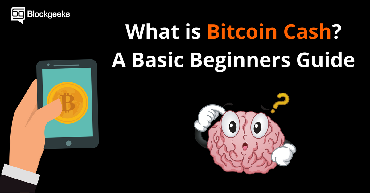 What is Bitcoin Cash? A Basic Beginners Guide