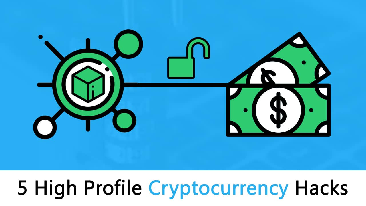 5 High Profile Cryptocurrency Hacks