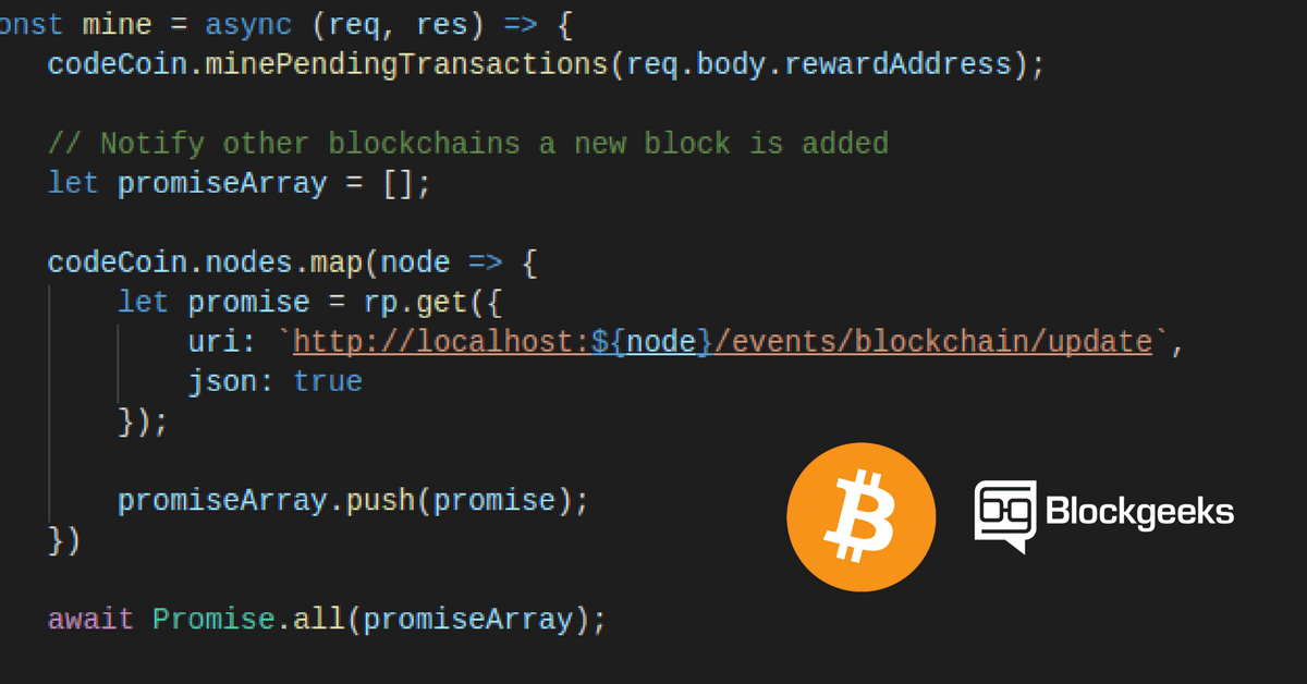How To Code a Bitcoin