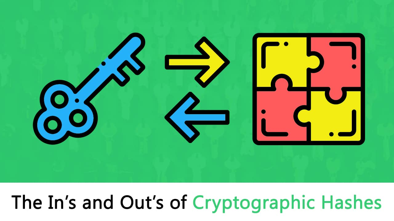 The In's and Out's of Cryptographic Hash Functions