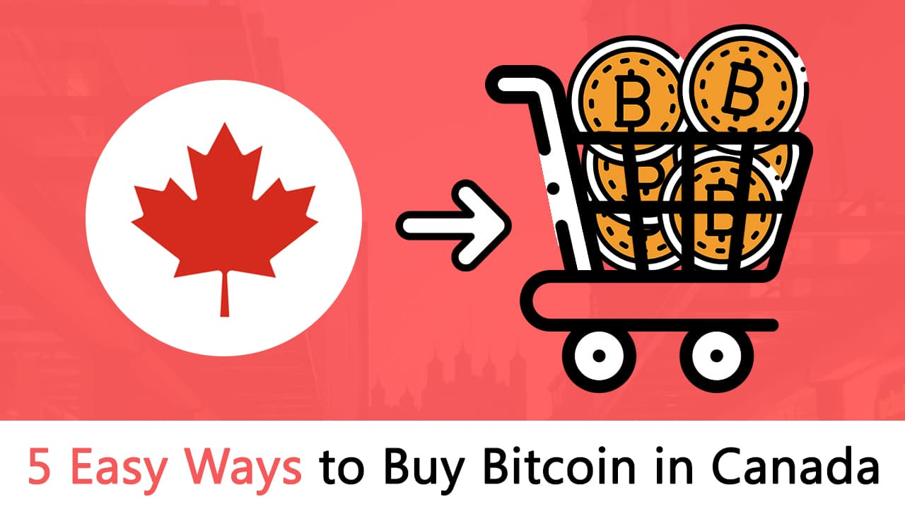 5 Easy Ways to Buy Bitcoin in Canada 2019