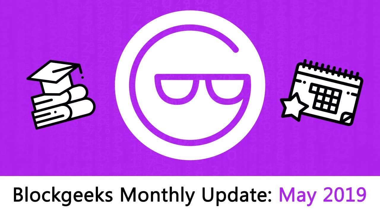 Blockgeeks Update