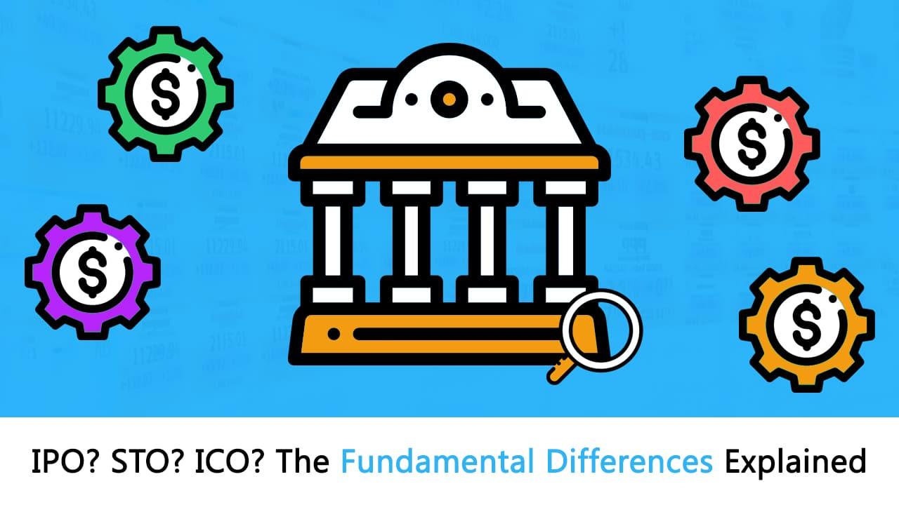 STOs vs. ICOs vs. IPOs