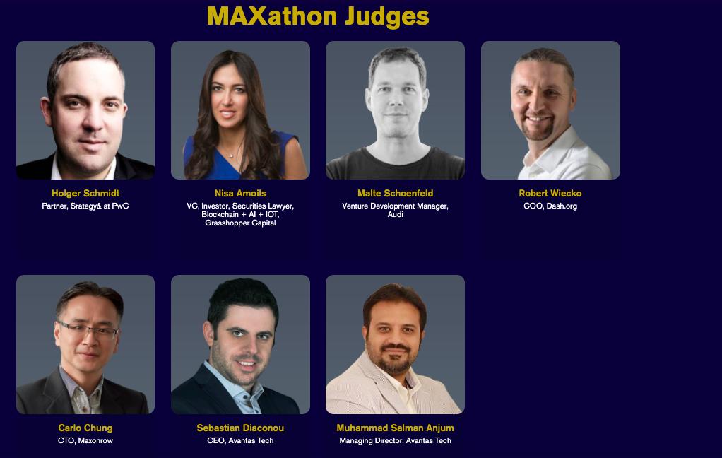 Maxonrow - Hackathon