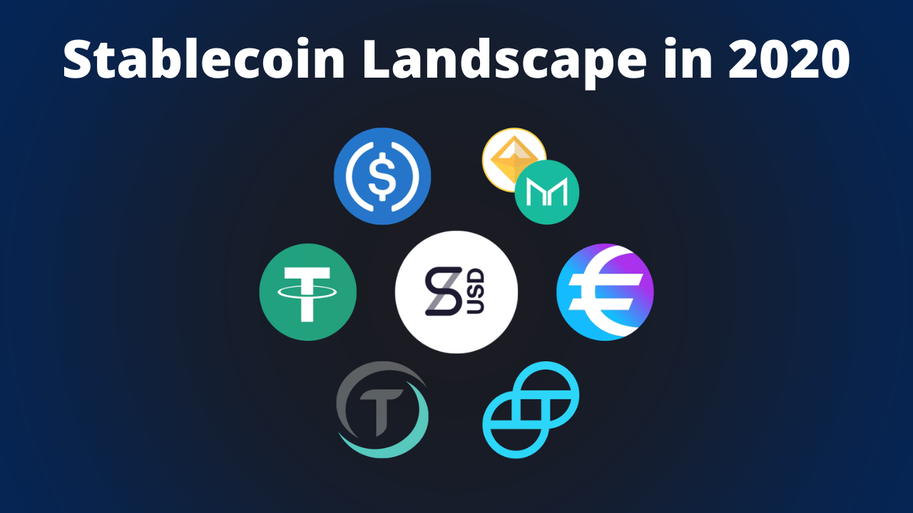 The Stablecoin Landscape in 2020 (A Quick Summary Overview)