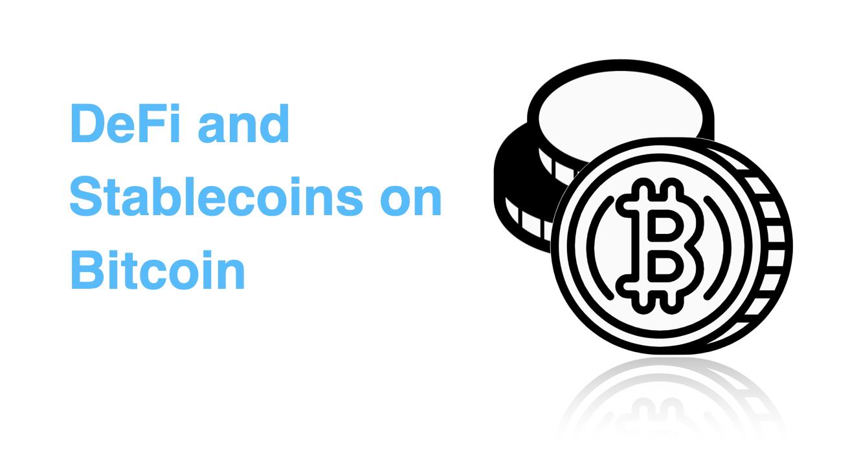 DeFi On Bitcoin